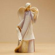 February Angel ..... Foundations by Karen Hahn