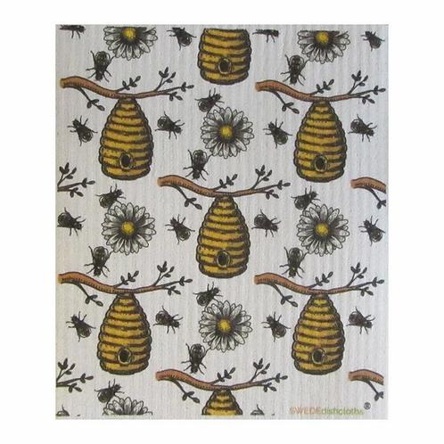 Bees & Hives .......... Swedish Dishcloth