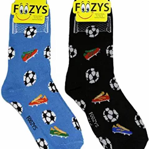 Foozys Womens Soccer Socks ..... 2 pr (1 pair of each