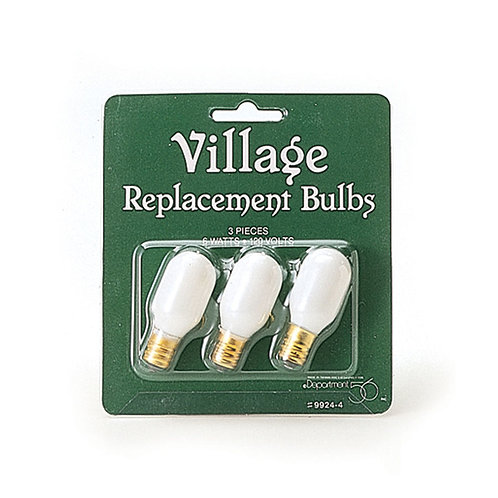 Village Replacement Bulbs