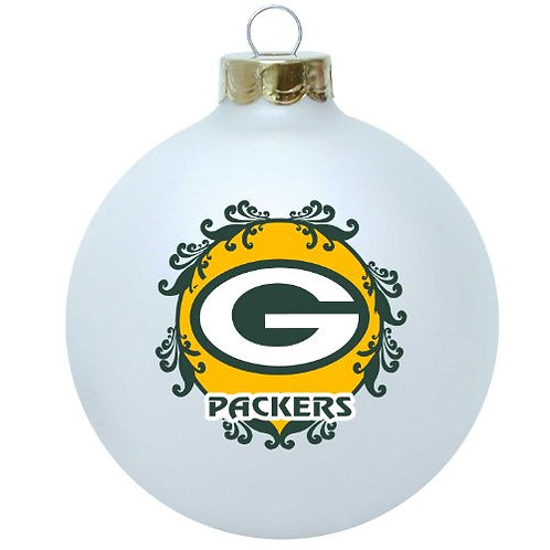 Packers Large Ball Ornament