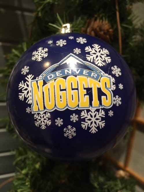 Nuggets Shatter-Proof Ball Ornament