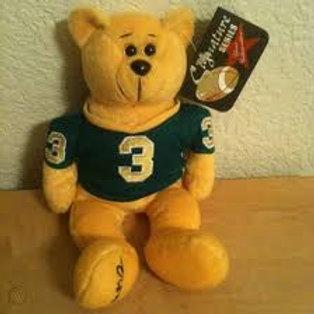 Plush Classic Collecticritter Limited Edition Bear ..... Joe Montana