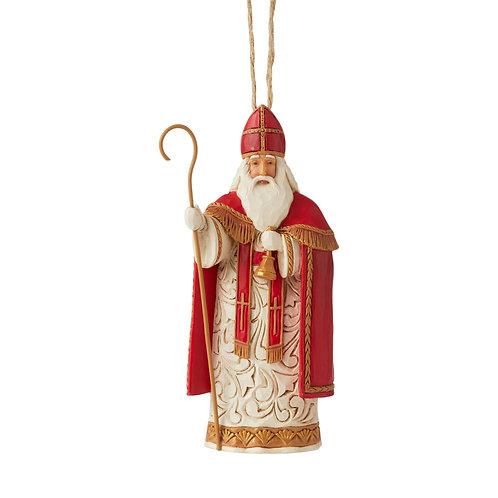 Belgian Santa Ornament