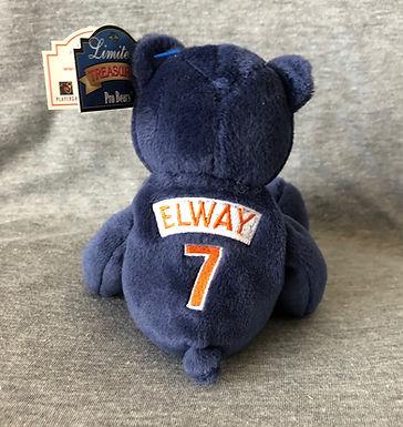 Denver Broncos Navy Plush Bear - #7 John Elway