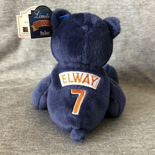 Denver Broncos Navy Plush Bear - #7 John Elway