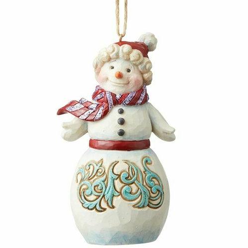Wonderland Snowman Ornament