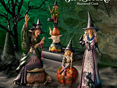 Halloween Heartwood Creek by Jim Shore