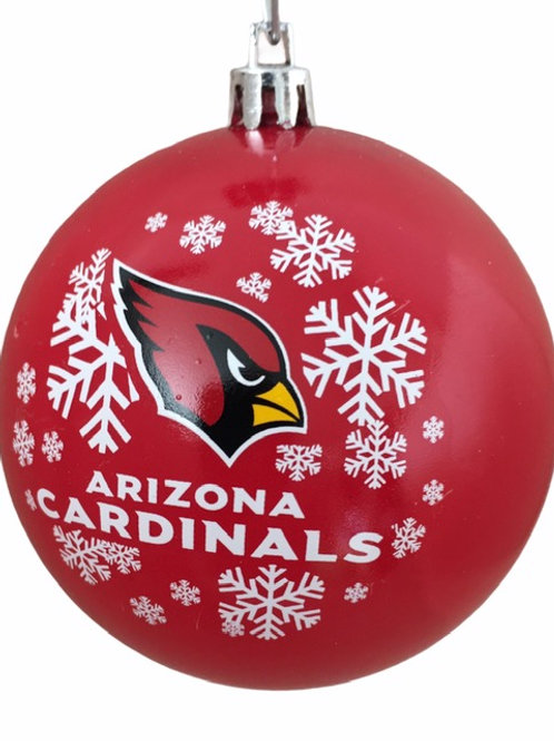 Cardinals Red Shatter-Proof Ball Ornament