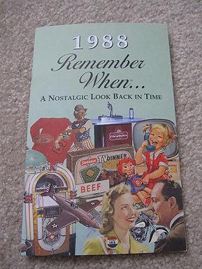 1988 Remember When Kardlet