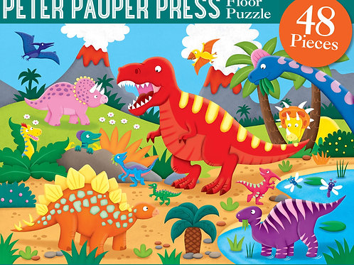 Dinosaur Puzzle 48 pieces