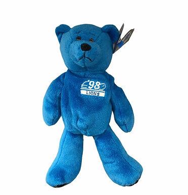 Limited Treasures Plush Bear .....Detroit Lions' Charlie Batch #10