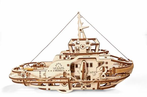 Ugears Tugboat ........ Wood Model Kit