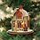 Thumbnail: Big Red Stocking Company ..... Ginger Cottages Figurine / Ornament