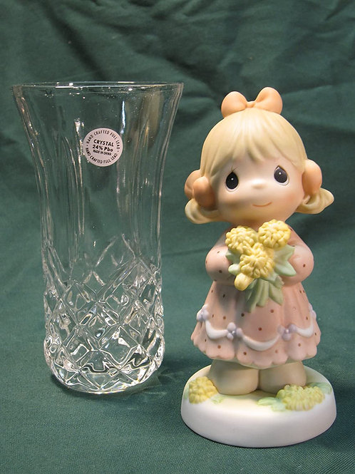 You're A Dandy Mom, And I'm Not Lion ..... {2 pcs set incluides Crystal Bud Vase