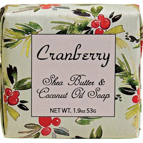 Habersham Cranberry ..... Shea Butter and Coconut Oil Soa