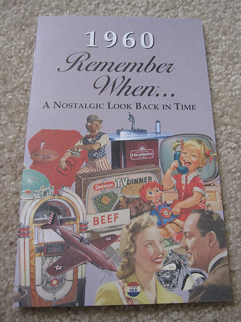 1960 Remember When Kardlet
