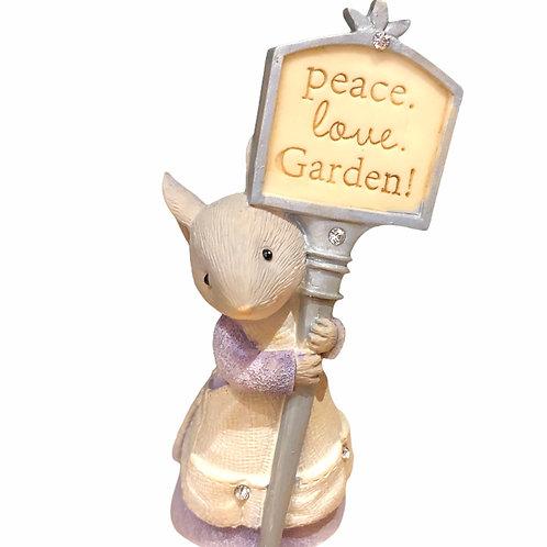 Peace.Love.Garden!
