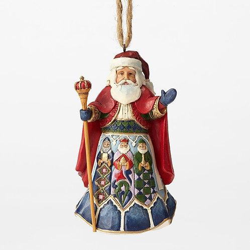 Spanish Santa Hanging Ornament
