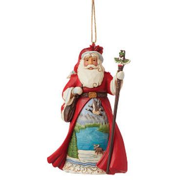 Canadian Santa Ornament