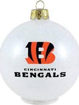 Bengals Large Ball Ornament