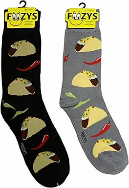 Foozys Mens Tasco Socks ..... 2 pr (1 pair of each color