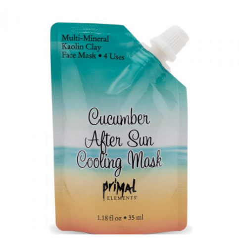 Face Mask - CUCUMBER AFTER SUN COOLING MASK