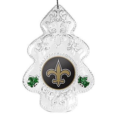 Saints Acylic Tree - Cut Crystal Design Ornament