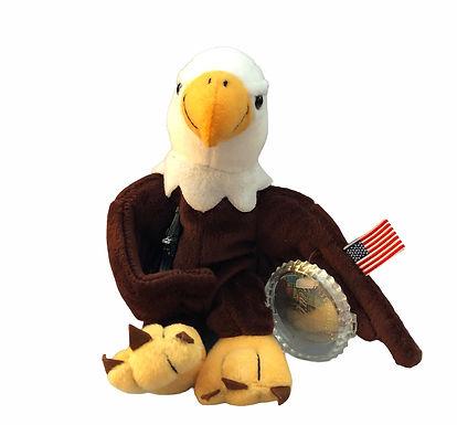 Cavanagh Coca-Cola Plush ..... Reegle the Bald Eagle    Representing  the USA