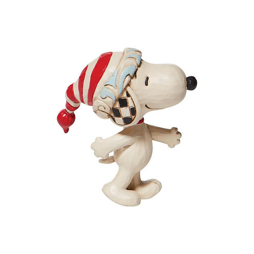 Mini Snoopy With Red & White Cap