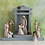 Thumbnail: Crèche   ..... coordinates with Willow Tree Nativity #26005 by Demdaco