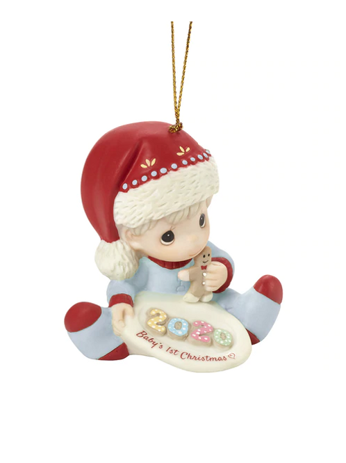 Baby's 1st Christmas 2020 Dated Boy Ornament