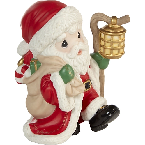 May Your Spirits Be Merry And Bright Annual Santa Figurine