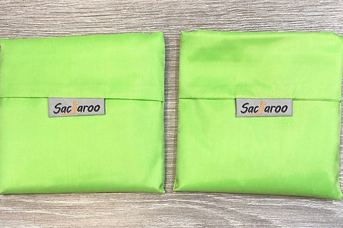 Green Sacaroo Reusalbe Bags Set of 2