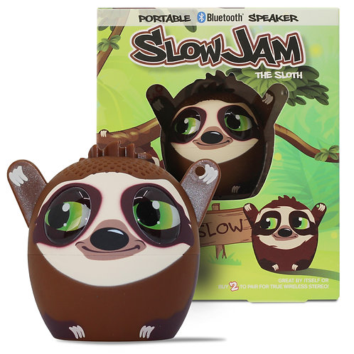 Slow Jam Sloth Bluetooth Speaker