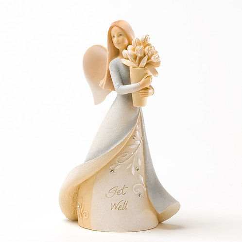 Get Well Mini Angel ..... Foundations by Karen hahn