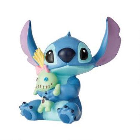 Stitch with Doll Mini Figurine