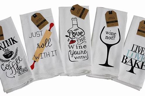 Set of 5 Fun Towels ..... Bistro Towel