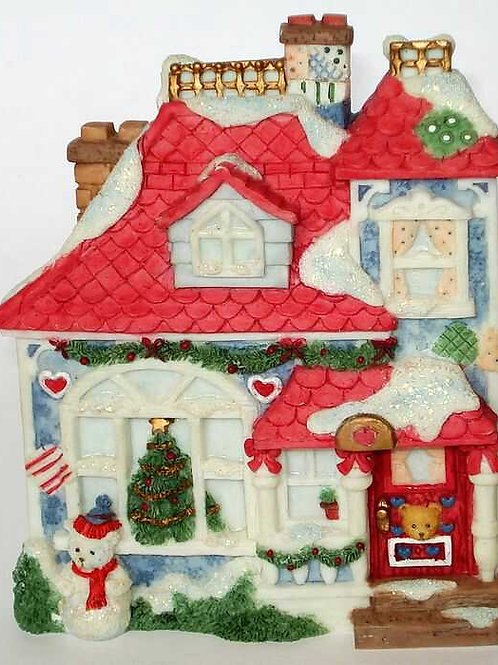 Our Cherished Neighbearhood ..... Decorated Christmas House