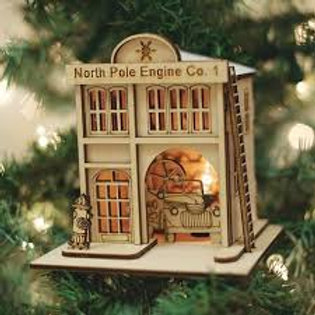 North Pole Engion Company #1 ..... Ginger Cottages Figurine / Ornament