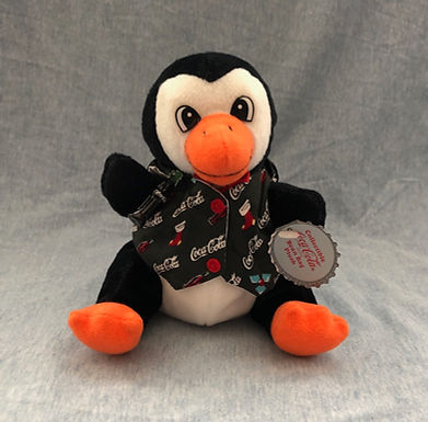 Cavanagh Plush ..... Penguin in Holiday Vest
