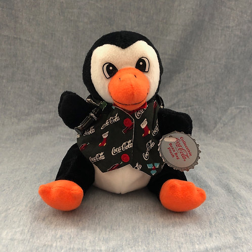 Cavanagh Plush ..... Penguin in Holiday Vest