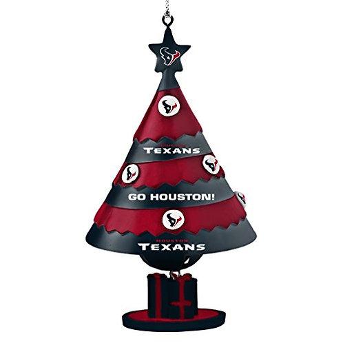 Texans Bell Tree Ornament
