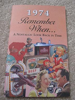 1974 Remember When Kardlet