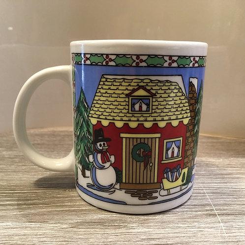 Holiday House Mug
