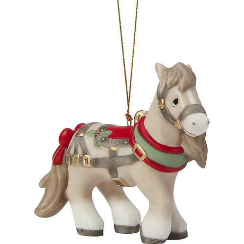 May Your Neighs Be Merry And Bright Annual Animal Ornament