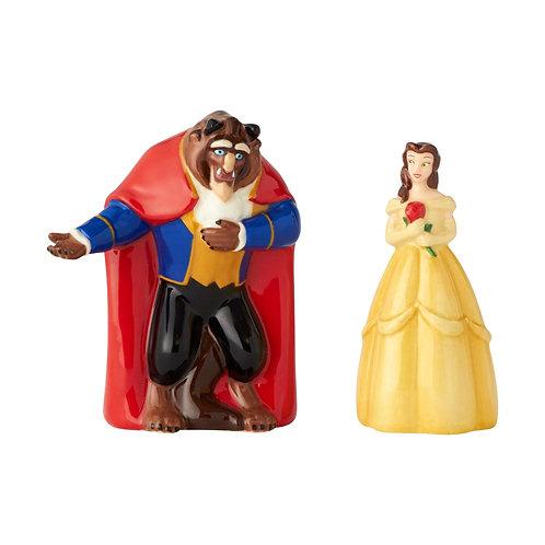 Belle and Beast Salt & Pepper Shakers
