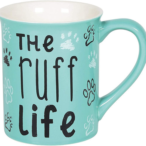 "16oz .....   ""The Ruff Life"" Mug ..... by Our Name Is Mud"