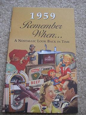 1959 Remember When Kardlet