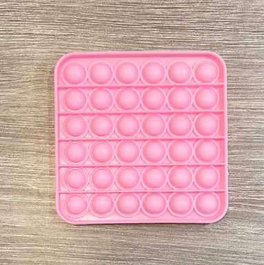 Pink Square Waffle Pops
